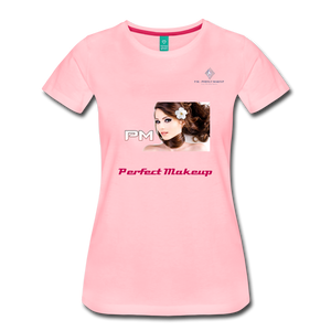 "P.M. - ""Perfect Makeup"" Line - The Boyfriend Soft Premium T-Shirt - pink"
