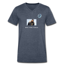 "Load image into Gallery viewer, ""Nipsey Hussle Forever"" Animation - Premium Men's V-Neck T-Shirt by Canvas - heather navy"