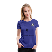 Load image into Gallery viewer, Women's Premium T-Shirt - royal blue
