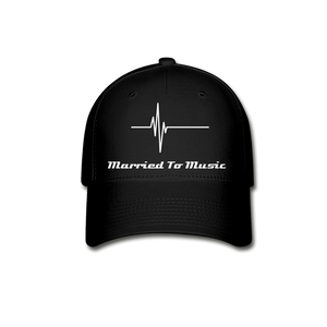 """Married To Music"" - Baseball Cap - black"