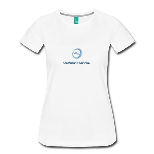 Next Level - Queen Level Line Women's Premium T-Shirt - white