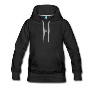 Next Level *Official Long Sleeve Women's Premium Hoodie - black