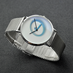 Next Level Logo Unisex 30 Meters Waterproof Quartz Stylish Stainless Steel Watch