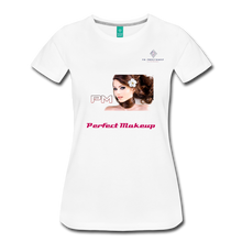 "Load image into Gallery viewer, P.M. - ""Perfect Makeup"" Line - The Boyfriend Soft Premium T-Shirt - white"