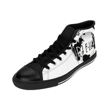 Load image into Gallery viewer, Premier DJ E-Luv *Official Logo - Custom Design Men's High-Top Sneakers