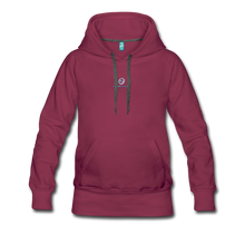 Load image into Gallery viewer, Next Level *Official Long Sleeve Women's Premium Hoodie - burgundy