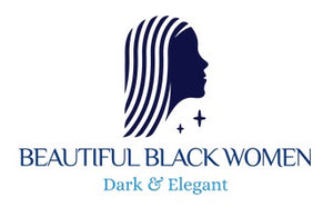 """Beautiful Black Women"" Line - (Classic Afro) Relaxed Fit Cotton T-Shirt"