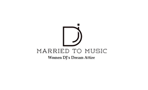 "Women DJ's Dream Logo - ""Married To Music"" Queen 01 Premium T-Shirt"