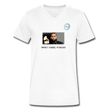 "Load image into Gallery viewer, N.L. ""Nipsey Hussle Forever"" At The Grammy's - Men's V-Neck T-Shirt by Canvas - white"