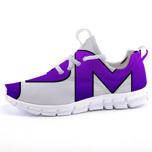 "P.M. - ""Perfect Makeup"" Line - Women's Lightweight *Breathable Royal Purple Casual Sports Sneakers"