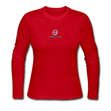 "Load image into Gallery viewer, Next Level *Official ""Queen Level"" - Women's Long Sleeve Jersey T-Shirt - red"
