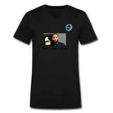 "Load image into Gallery viewer, N.L. ""Nipsey Hussle Forever"" At The Grammy's - Men's V-Neck T-Shirt by Canvas - black"