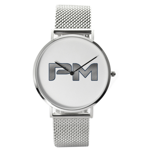 P.M. - Perfect Makeup Women's 30 Meters Waterproof Quartz Stylish Stainless Steel Watch