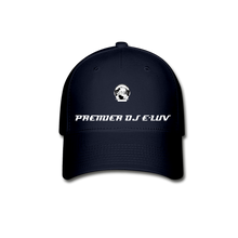 Load image into Gallery viewer, Premier DJ E-Luv - Stylish Black Baseball Cap II - navy