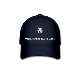 Premier DJ E-Luv - Stylish Black Baseball Cap II - navy