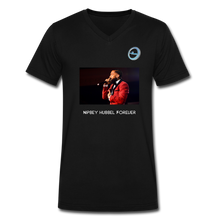 "Load image into Gallery viewer, N.L. ""Nipsey Hussle Forever"" - Premium Men's V-Neck T-Shirt by Canvas - black"
