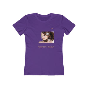 "P.M. -""Perfect Makeup"" Line - Every Women's Favorite - (The Boyfriend) Soft Tee"
