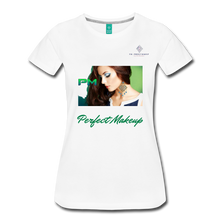 "Load image into Gallery viewer, P.M. -""Perfect Makeup"" Line - Finally Flawless Soft Premium T-Shirt - white"