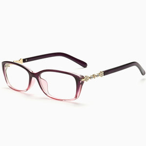 2019 Women Computer Optical Eye Glasses Spectacle Frame With Transparent Lens Armacao  de RS064