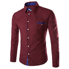 Load image into Gallery viewer, *On Sale* Formal Autumn Social Casual Long Sleeve Turn Down Collar Cotton Slim Fit Shirts