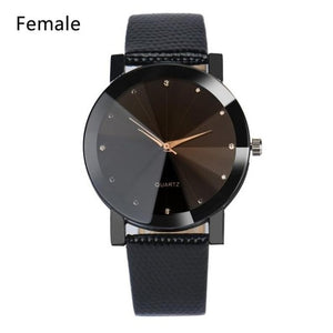 Men's Analog 8 Sporty Leather Band Watches & Quartz Stainless Steel Dial Layout Style