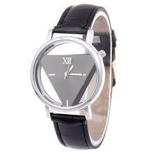 Load image into Gallery viewer, Quartz Unisex Hollow Analog Synthetic Leather Casual 4cm/1.6inch Watchband Wristwatch