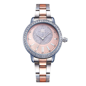 *On Sale* Women's Fashion Complete Schedule Glass Bangle Analog Quartz Wrist Watch