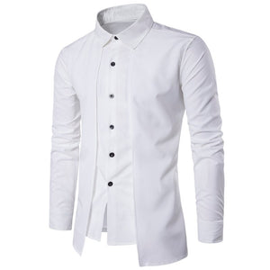2019 British Stylish Men's Business, Casual, Evening & Social Formal Long Sleeve Shirts