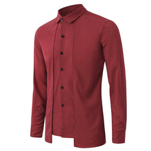 Load image into Gallery viewer, 2019 British Stylish Men's Business, Casual, Evening & Social Formal Long Sleeve Shirts