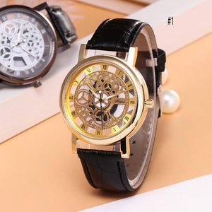 Unisex Fashion Hollow Design 1cm/0.4inch Digital 4cm/1.6inch Display Wristwatch