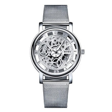 Load image into Gallery viewer, Unisex Fashion Hollow Design Round Shape Buckle Glass Closure Digital Wristwatch
