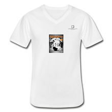 Load image into Gallery viewer, Men's V-Neck T-Shirt - white