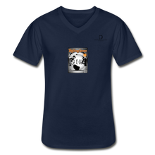Load image into Gallery viewer, Men's V-Neck T-Shirt - navy