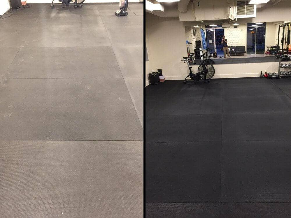 How to Keep Your Rubber Gym Floor Mats Clean
