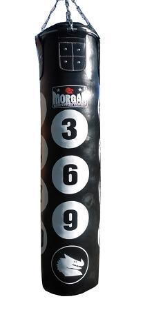 5 FOOT FILLED MORGAN NUMBER BOXING PUNCHING BAG HANGING KICKBOXING PUNCH BAG - sweatcentral