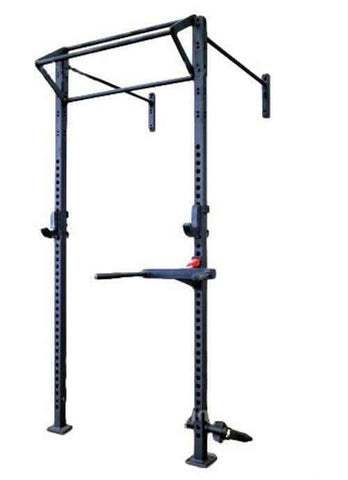 Image of 6 IN 1 CROSS FITNESS ASSUALT MATRIX WALL MOUNTED CAGE AND FREE STANDING SQUAT RACK - sweatcentral