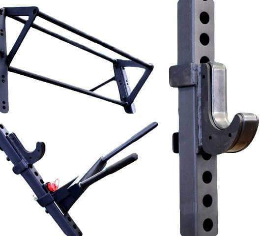 6 IN 1 CROSS FITNESS ASSUALT MATRIX WALL MOUNTED CAGE AND FREE STANDING SQUAT RACK - sweatcentral