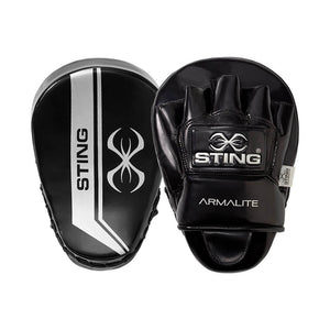 Pair Of Armalite Focus Pads Boxing Punching Mitts
