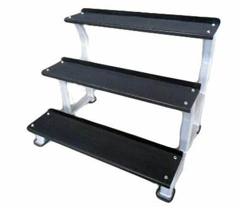 3 TIER KETTLEBELL STORAGE RACK