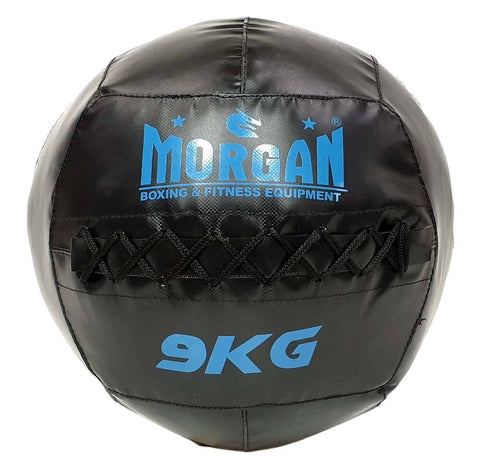 MORGAN CROSS TRAINING FUNCTIONAL FITNESS MEDICINE WALL BALL - 9KG