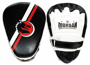 Morgan Classic All Purpose Pre-Bent Boxing Curved Focus Pads Punching Mitts