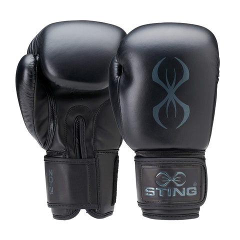 Image of STING TITAN ADULT LEATHER BOXING PUNCH GLOVES