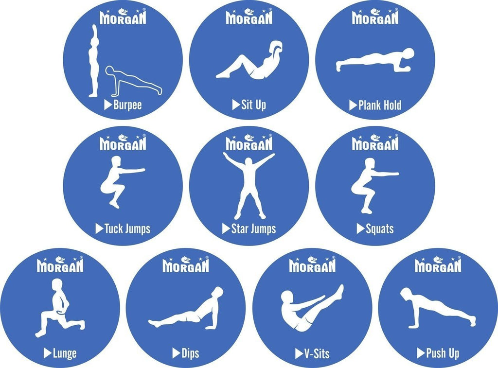 10PCS EXERCISE DOTS PACK - sweatcentral
