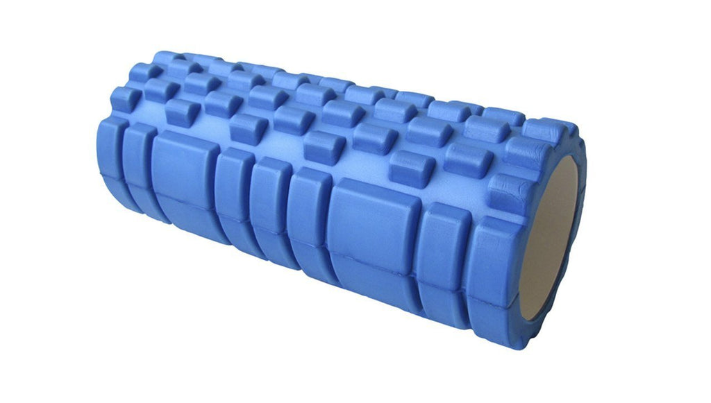 33x14cm FOAM ROLLER PHYSIO YOGA PILATES BACK ITB GYM EXERCISES TRIGGER POINT - BLUE COLOR - sweatcentral