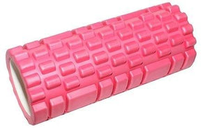 33x14cm FOAM ROLLER PHYSIO YOGA PILATES BACK ITB GYM EXERCISES TRIGGER POINT - PINK COLOR - sweatcentral