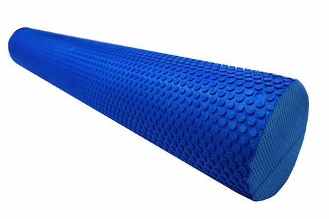 Image of 90x15cm EVA PHYSIO FOAM ROLLER | YOGA PILATES BACK GYM EXERCISE TRIGGER POINT - sweatcentral