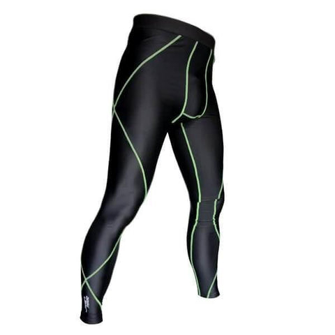 Image of BASE LAYER UNISEX COMPRESSION PERFORMANCE TIGHTS SKINS PANTS SIZE SMALL - sweatcentral
