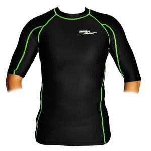 BASE LAYER UNISEX COMPRESSION SHORT SLEEVES TOP PERFORMANCE SKINS TOP - sweatcentral
