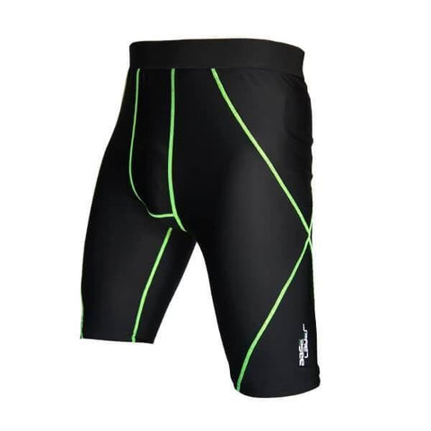 Image of BASE LAYER UNISEX COMPRESSION SHORTS PERFORMANCE TIGHTS SKINS SHORTS SIZE SMALL - sweatcentral