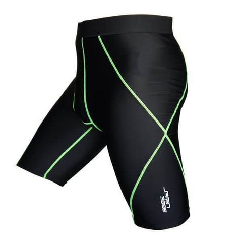 BASE LAYER UNISEX COMPRESSION SHORTS PERFORMANCE TIGHTS SKINS SHORTS SIZE SMALL - sweatcentral